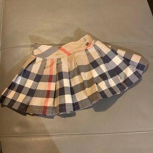 Girls Burberry skirt